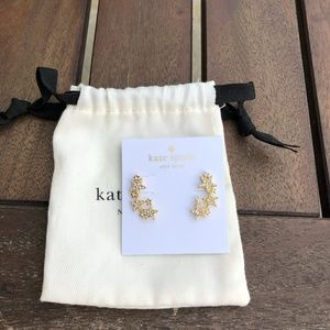 Kate Spade New York Gold Star Ear Cimbers